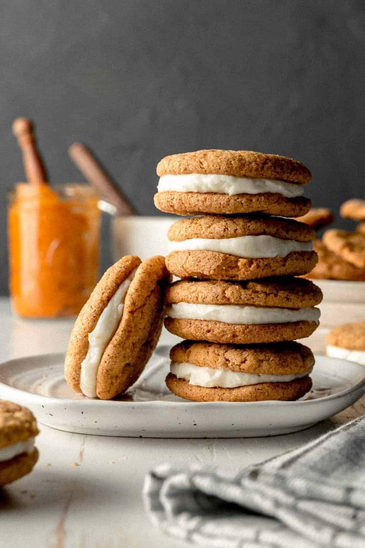 Gluten-free Pumpkin Cream Pies recipe