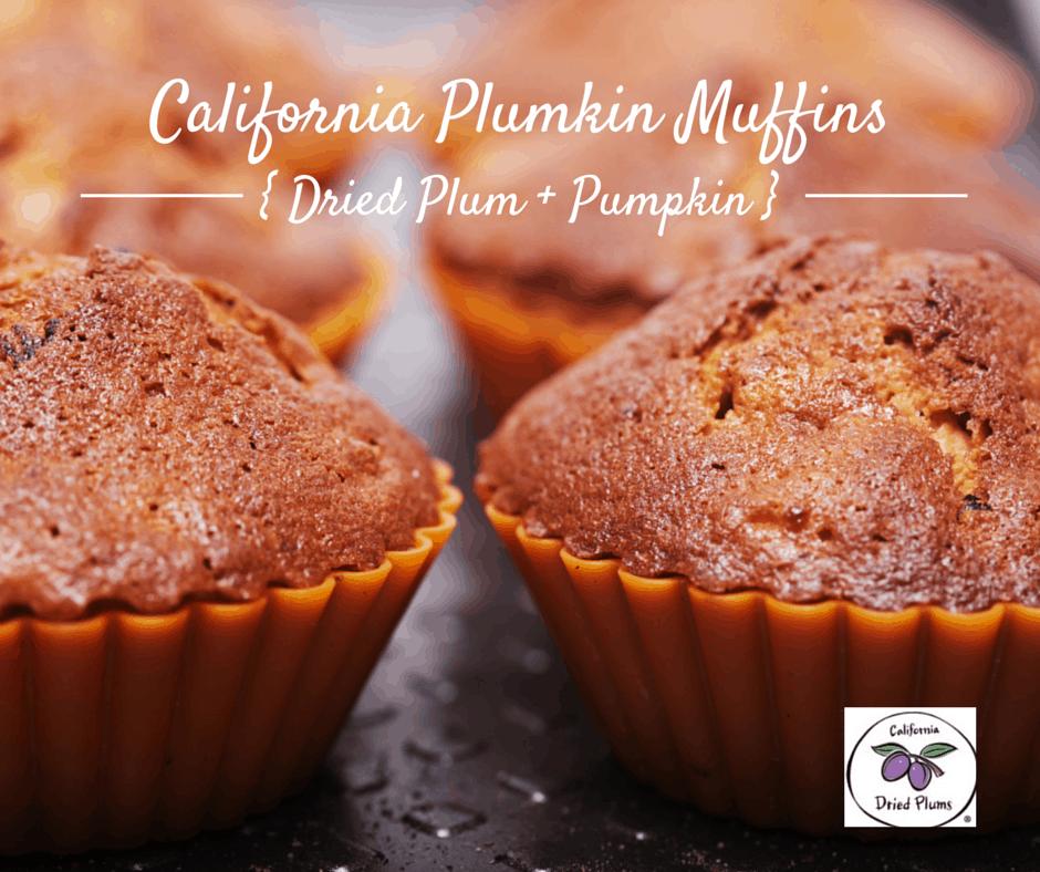 Plumkin muffins (Plum + Pumpkin)