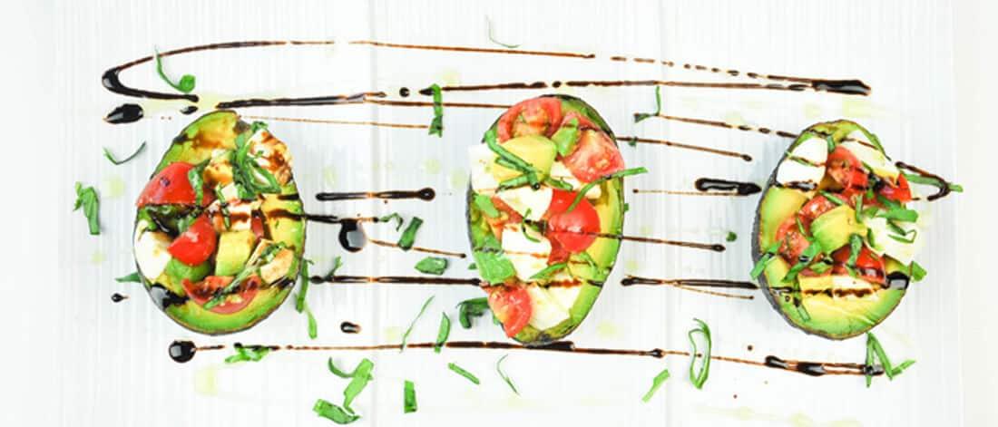California Avocado Caprese Salad Recipe