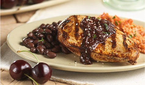 Cherry Chicken Mole