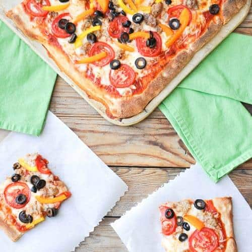 Greenhouse to Haunted House: Easy Homemade Pizza!