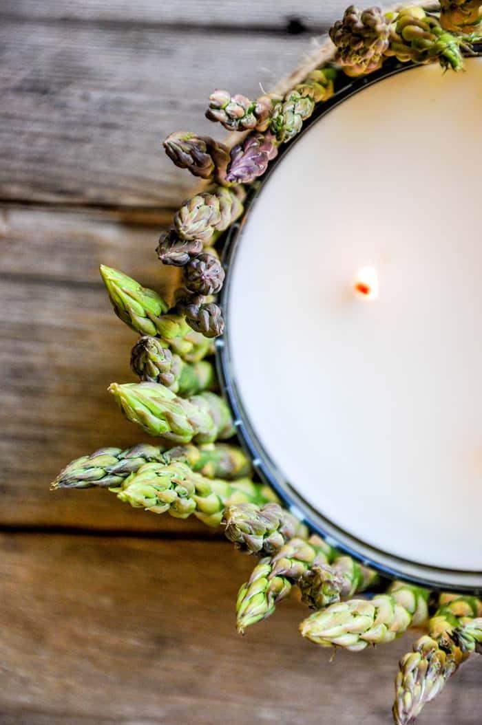 Asparagus Candle