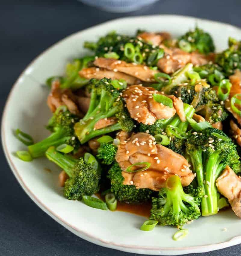 Chicken and Broccoli Stir Fry - green food round up