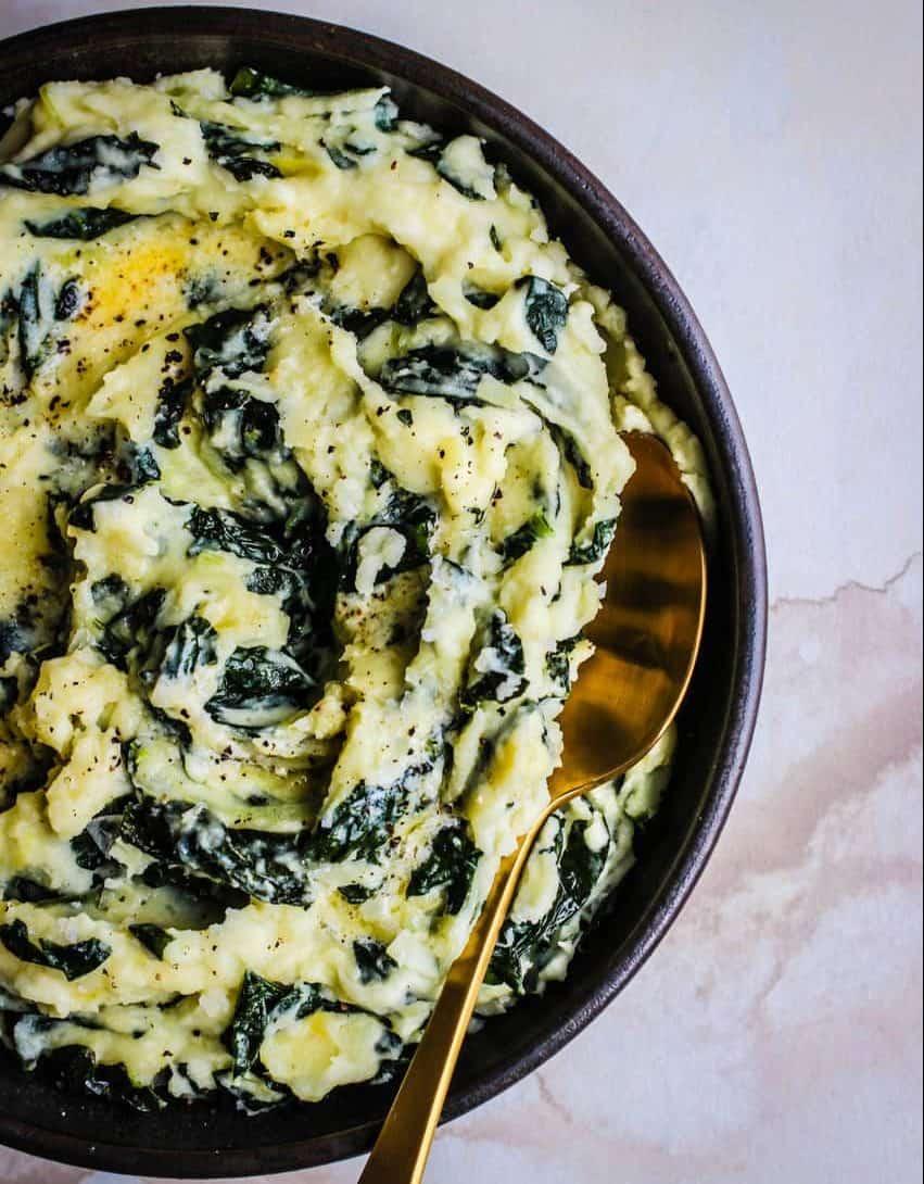 Colcannon - green food