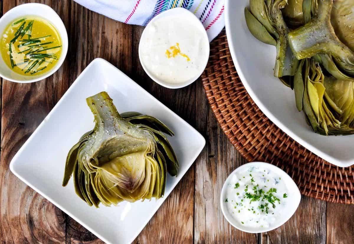 green food - artichoke