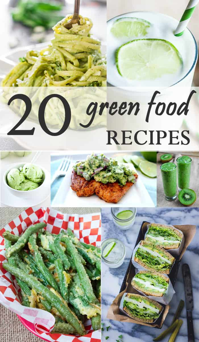20 Green Food Recipes