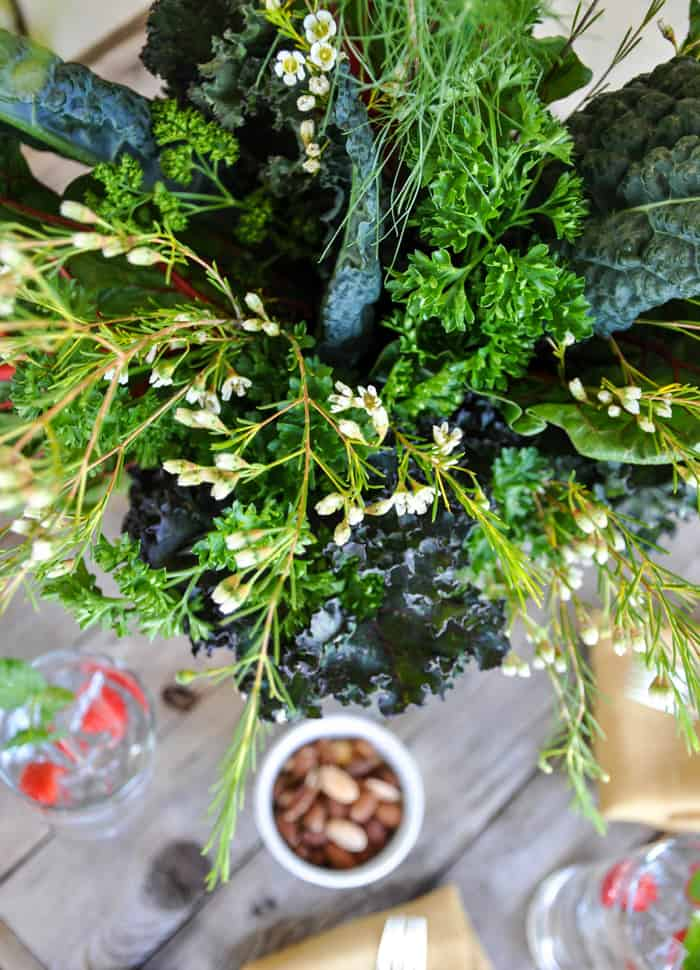 Leafy Greens Bouquet