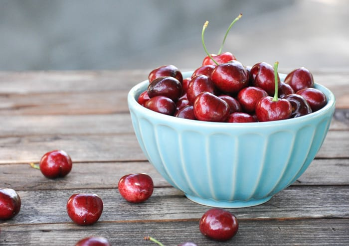 Fresh Cherry Sauce.  Perfect for ice cream and yogurt topping!