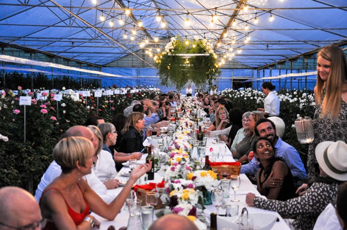 Dine and Smell the Roses: 2015 Field to Vase Dinner, Monterey, CA