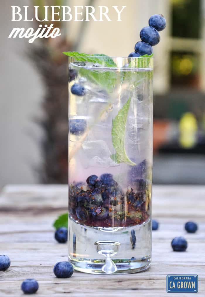 Blueberry Mojito!