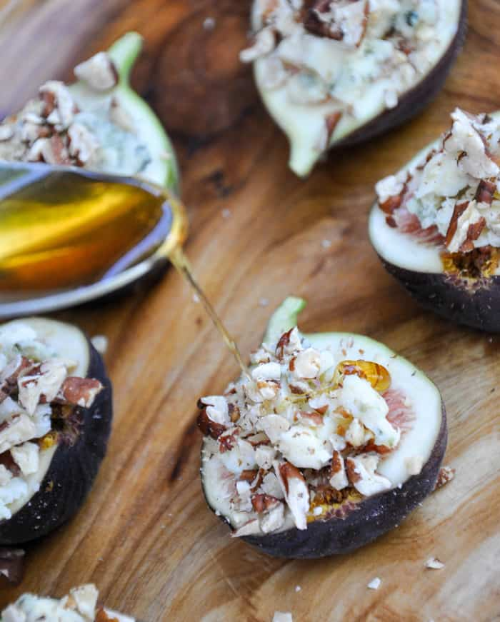 Fresh Figs With Blue Cheese And Honey Recipes — Dishmaps