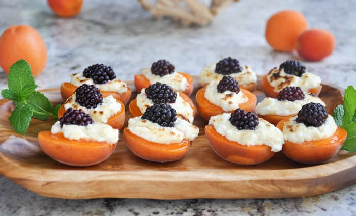 Apricot Blackberry Jewels