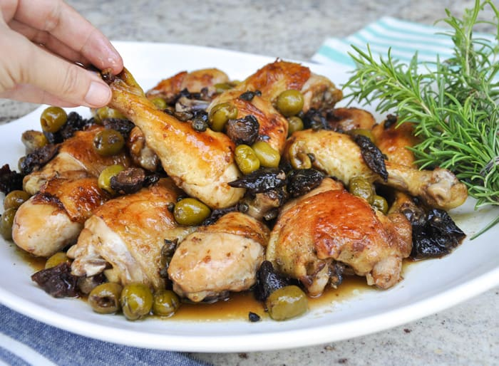 Chicken Calibella ~ A California spin on the classic spanish dish!