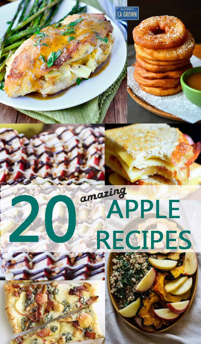 20 Apples Recipes that will Change your Life