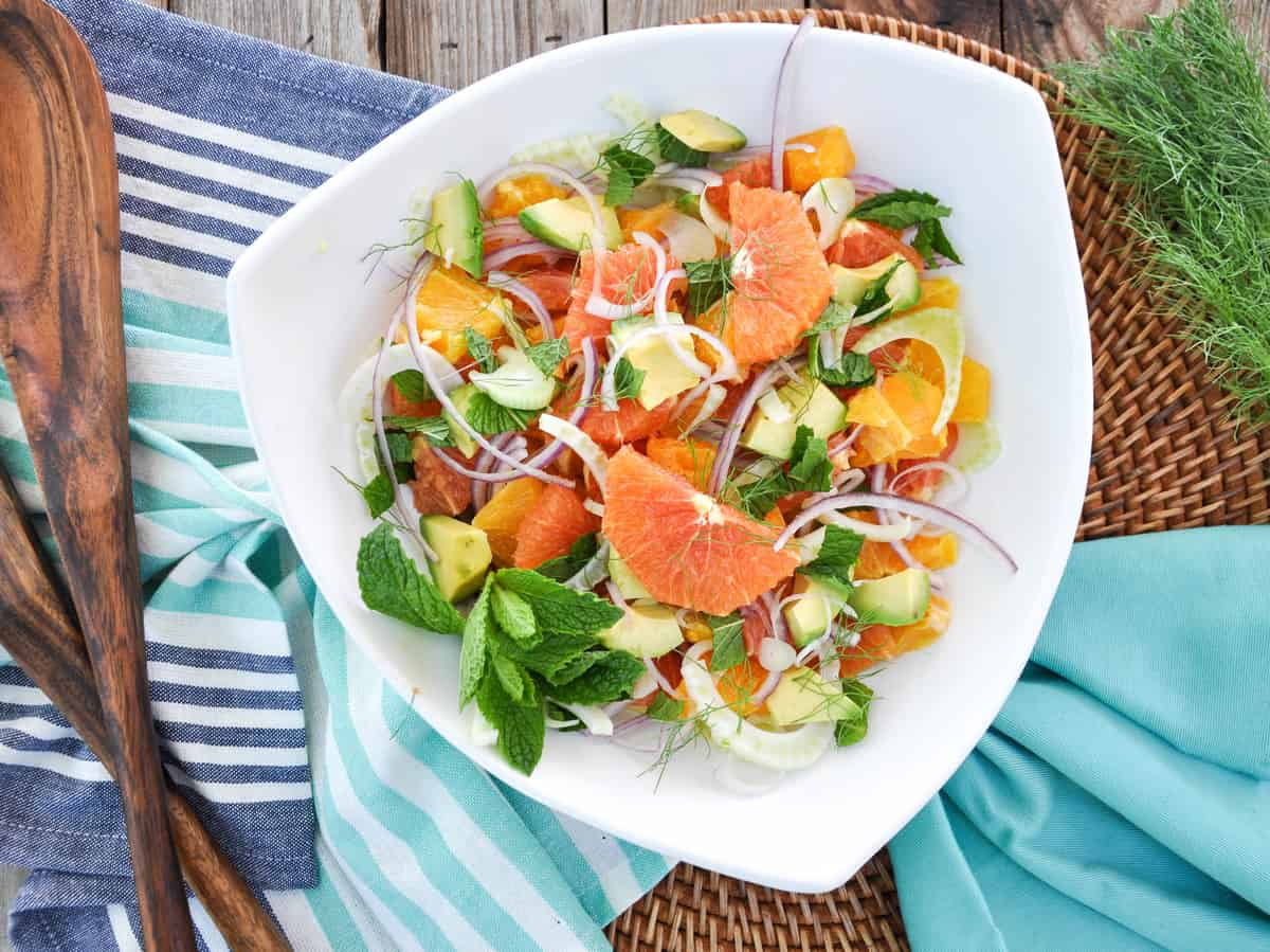 Citrus Spring Salad. Goodness, this is like sunshine in a bowl. All the ingredients are so fresh and flavorful!