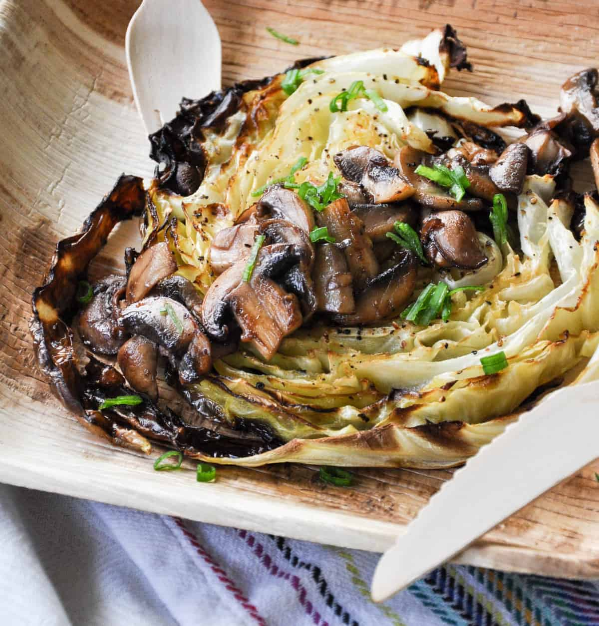 Roasted Cabbage Steaks. So flavorful!!