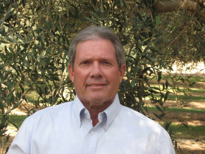 Michael Silveira olive farmer