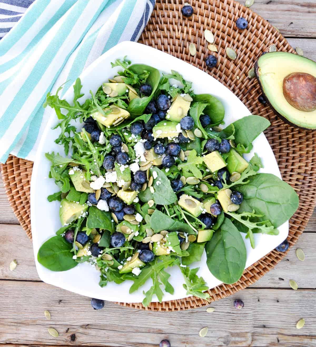 Blueberry California Avocado Salad