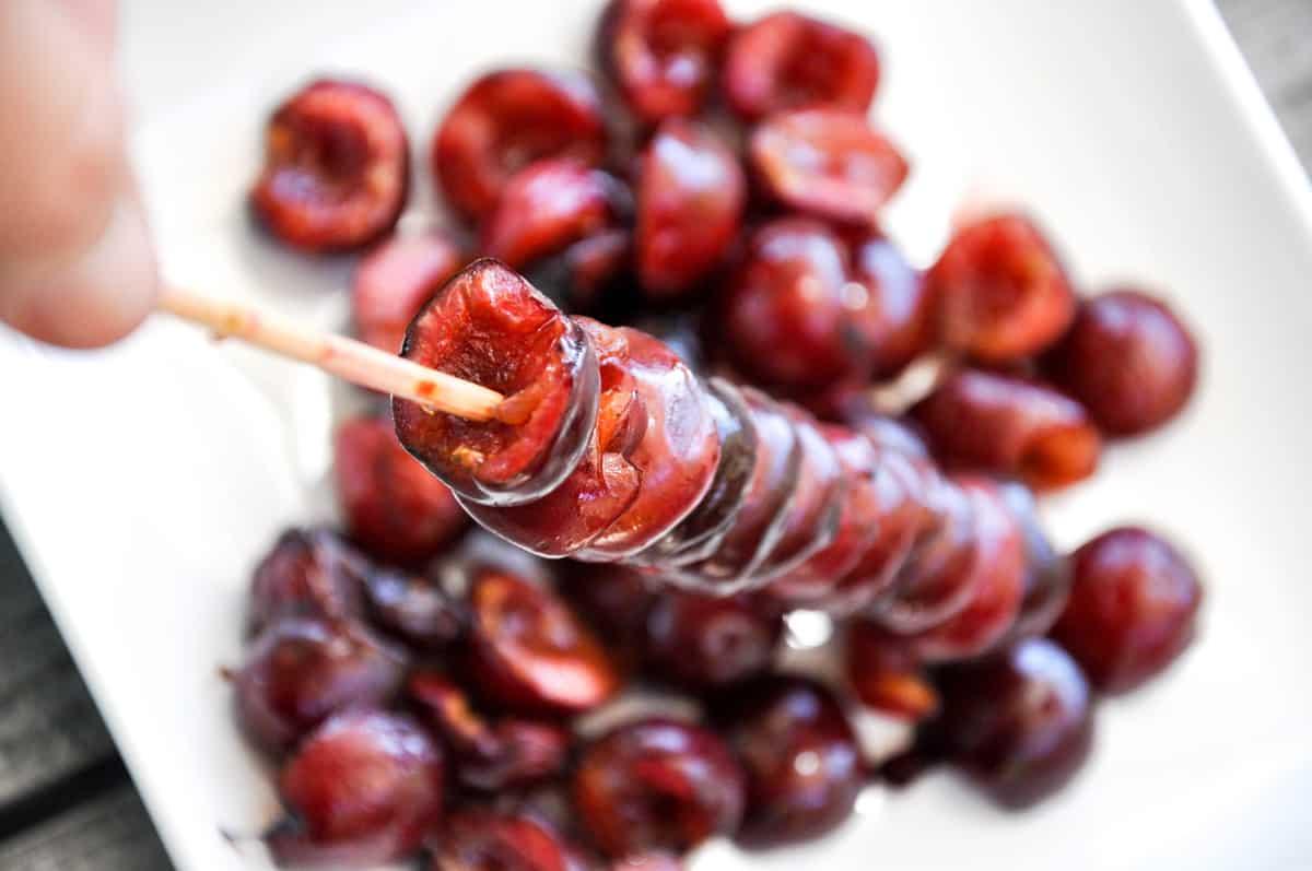 Grilled Cherry Shortcake