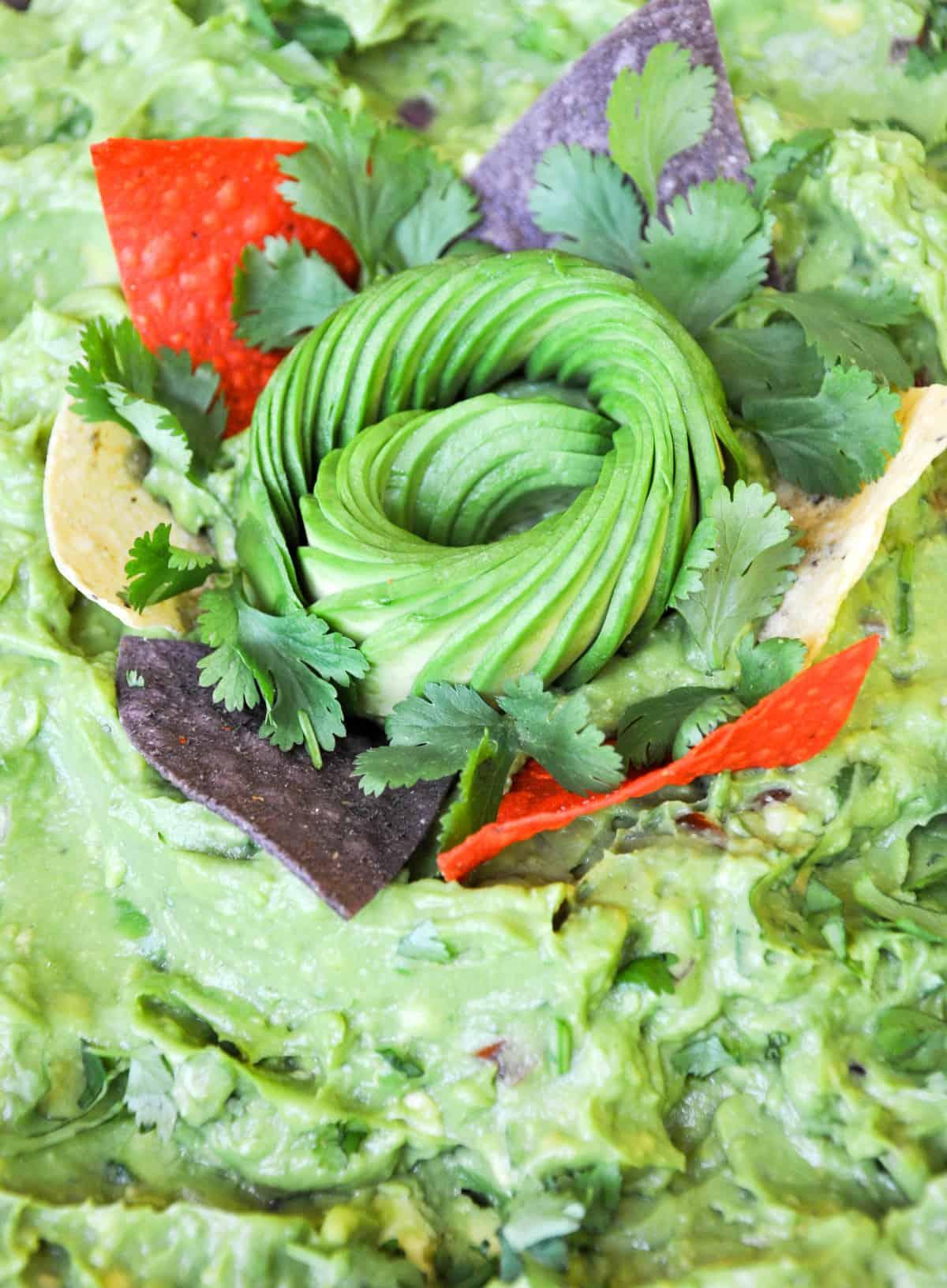 Guacamole with Avocado Nest