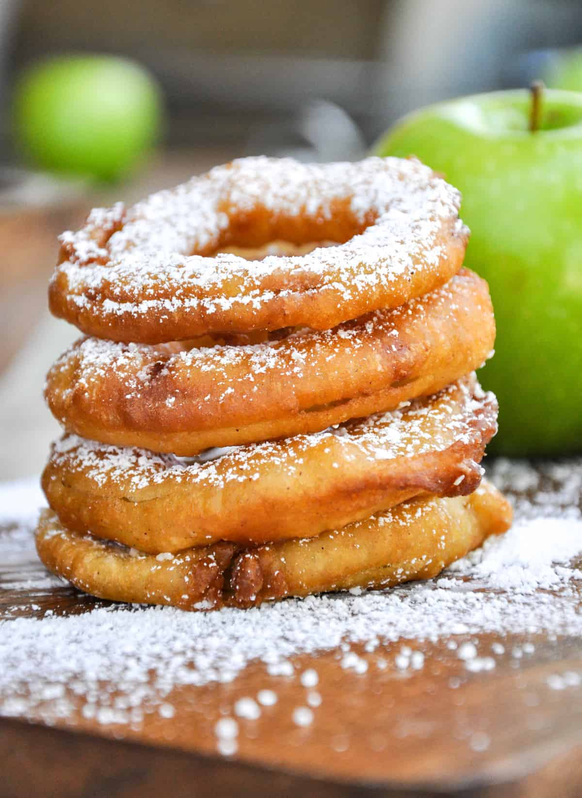 Fall in Love This Fall with Fried Apple Rings