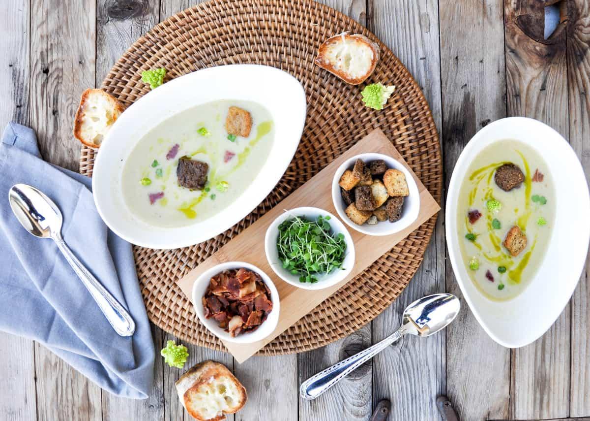 Creamy Romanesco Soup