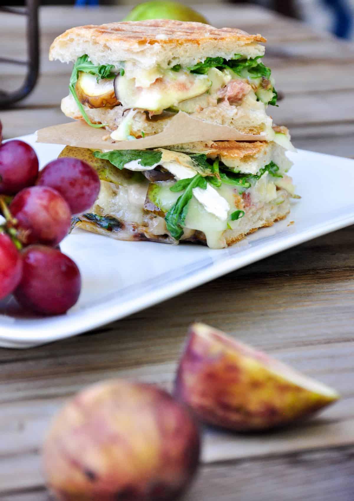 Pear & Fig Panini