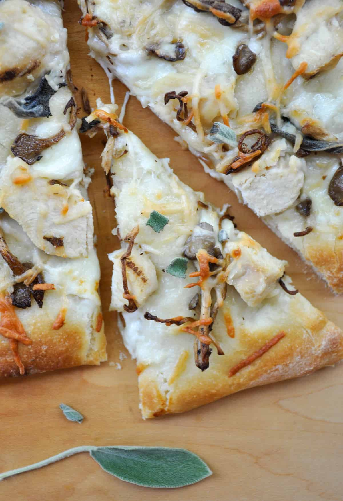 Chicken Mushroom Sage Pizza