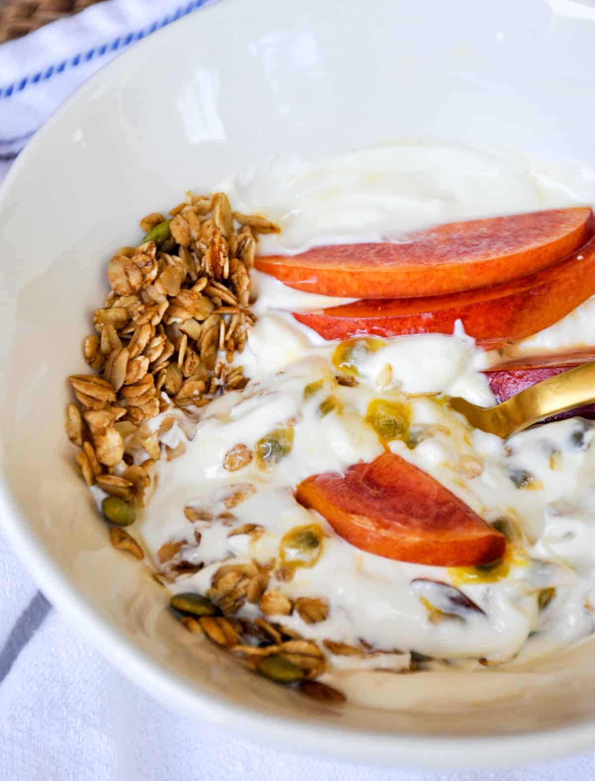 Passion Fruit Yogurt Bowl