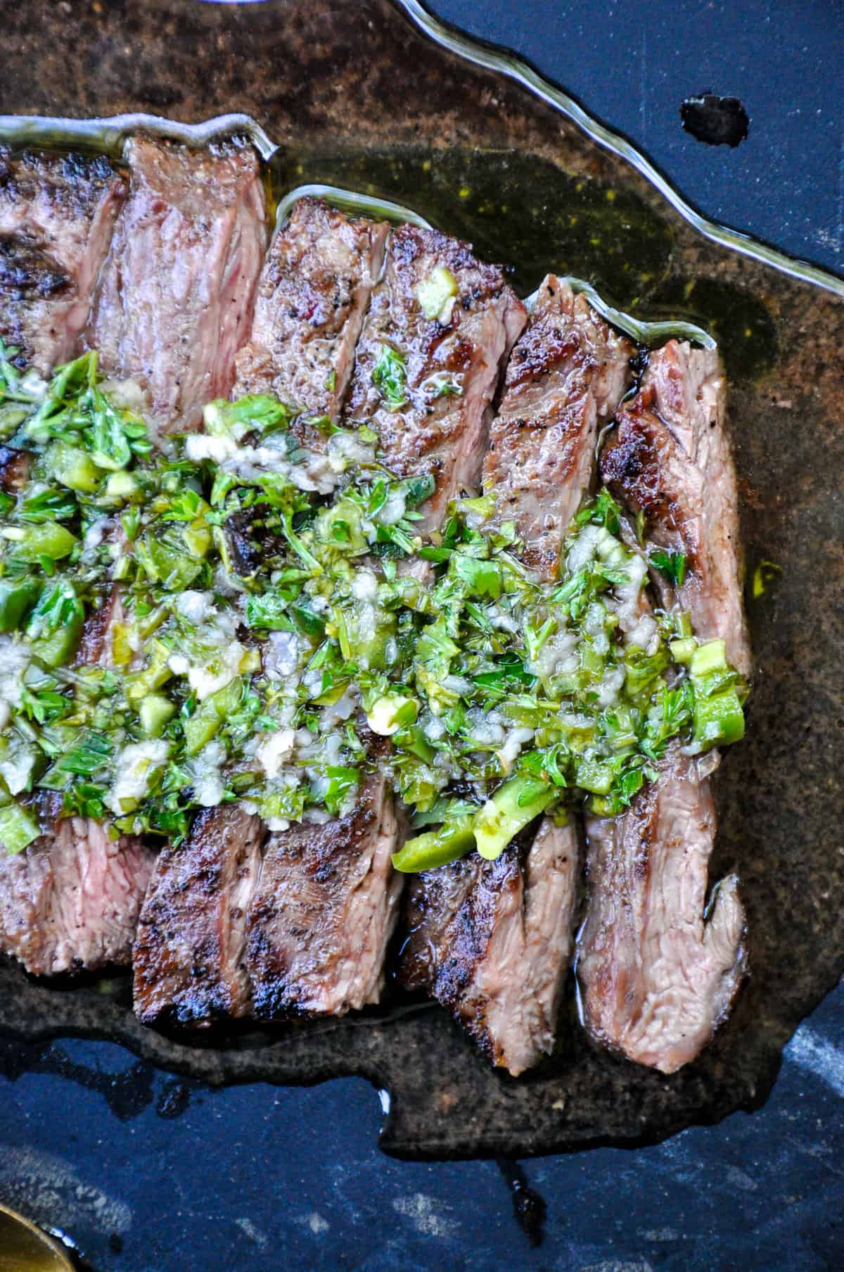 Reverse Marinade for your next steak. Full of flavor and fresh ingredients!