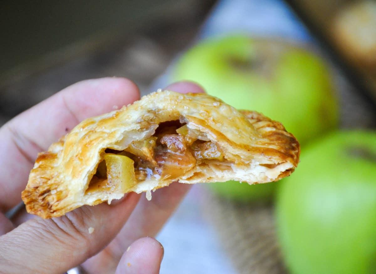 California Apple Caramel Hand Pies