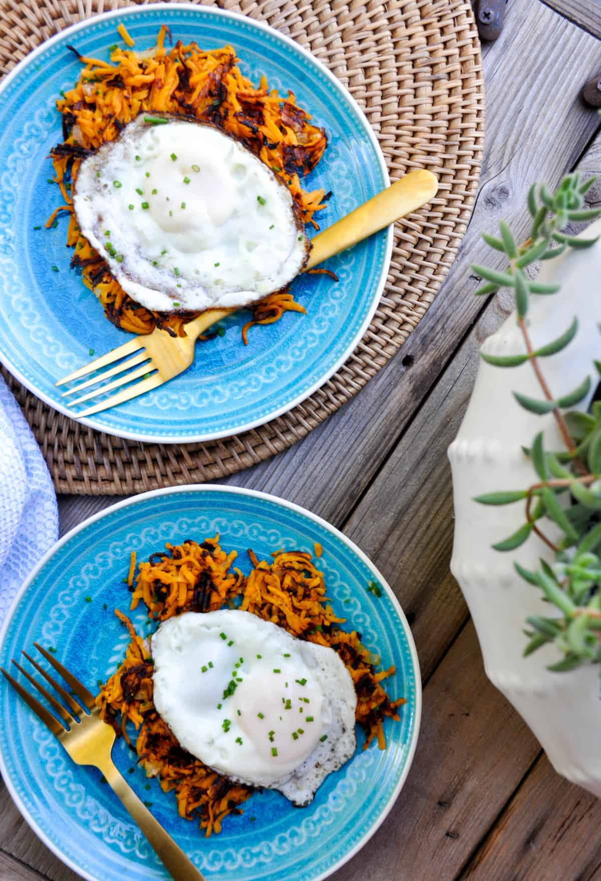 Sweetpotato Hashbrowns