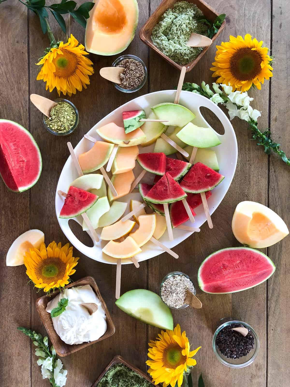 Refreshing Summer Melon Bar