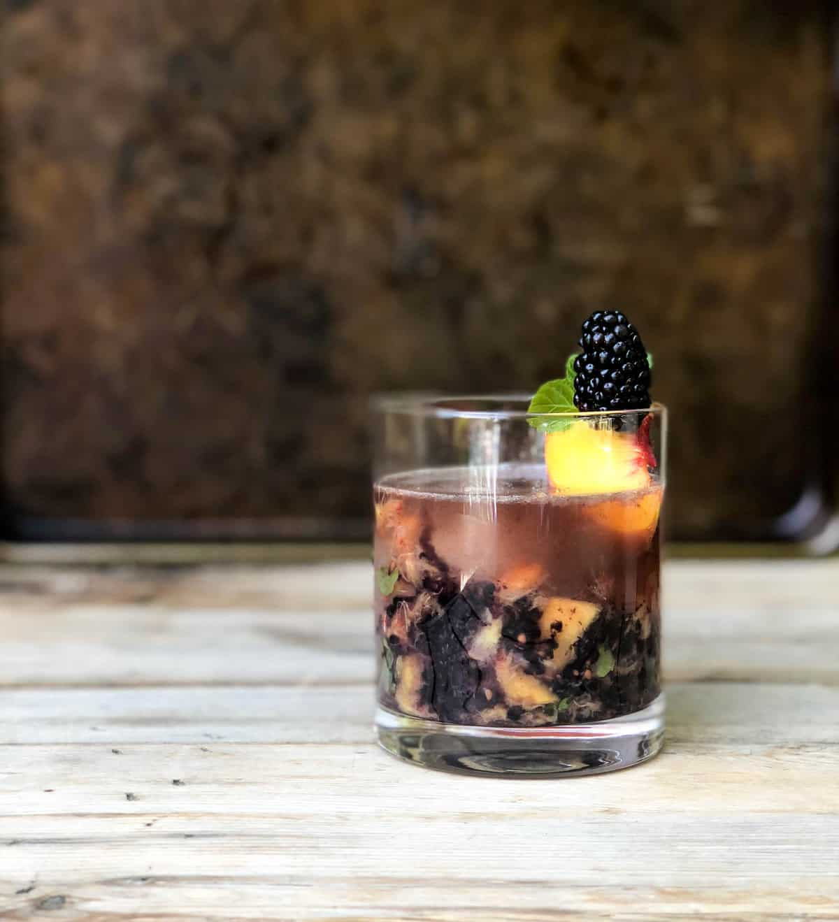 Blackberry Peach Smash