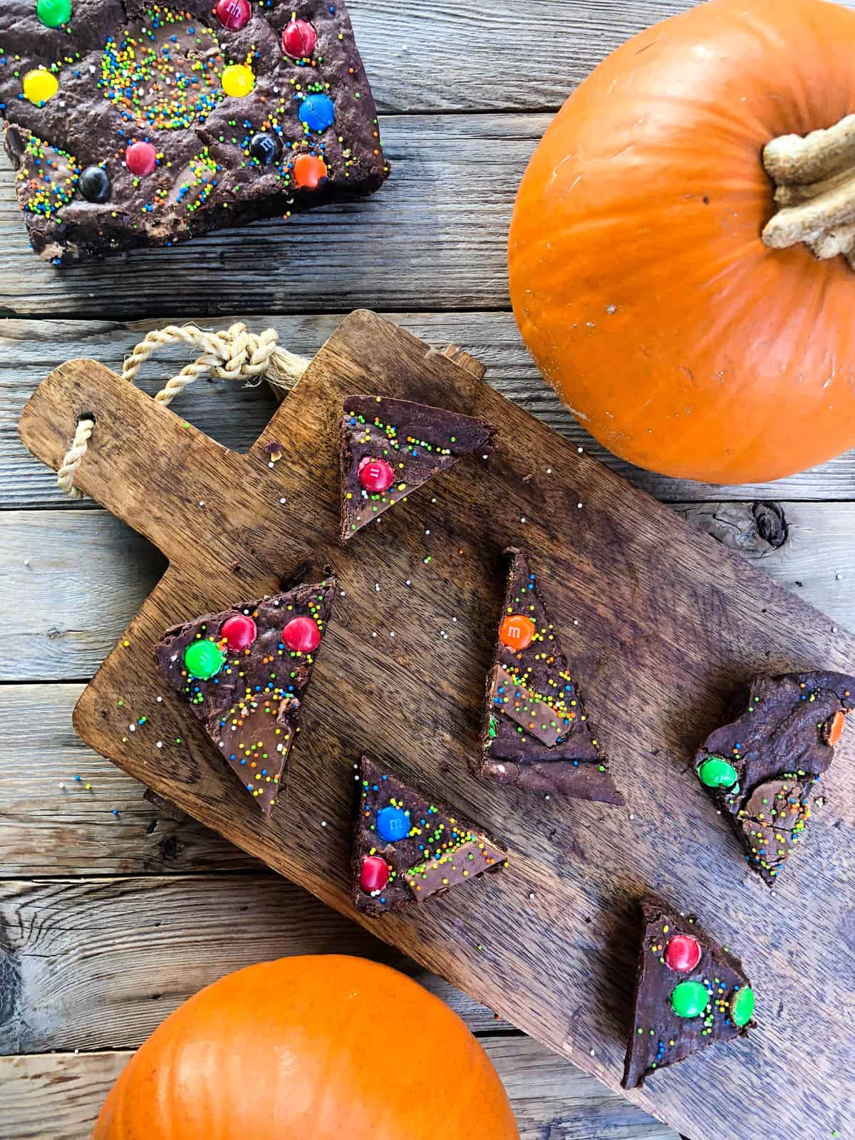 Witch's Brew Brownies