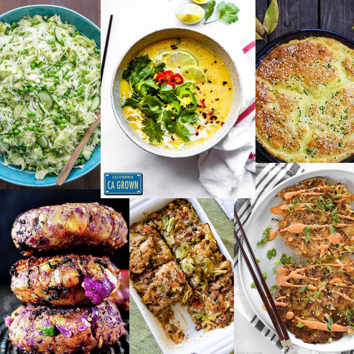 Amazing Cabbage Recipe RoundUp
