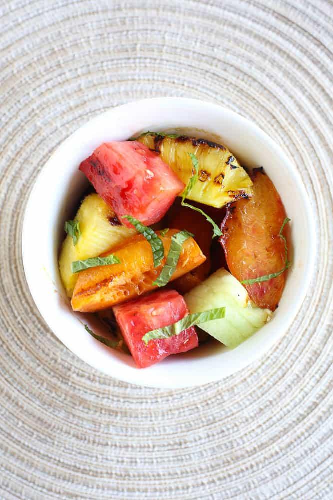 Grilled Fruit Salad