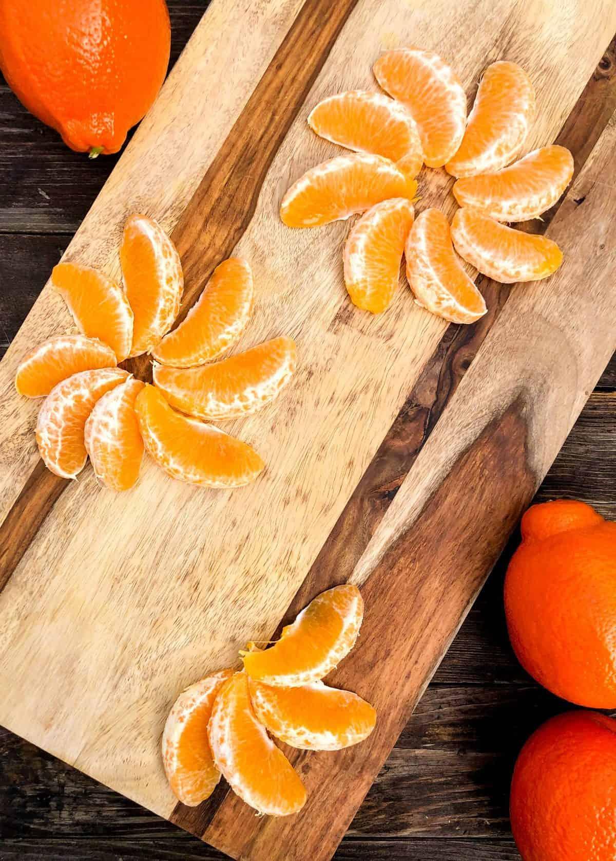 Tangerine Pistachio Kale Salad