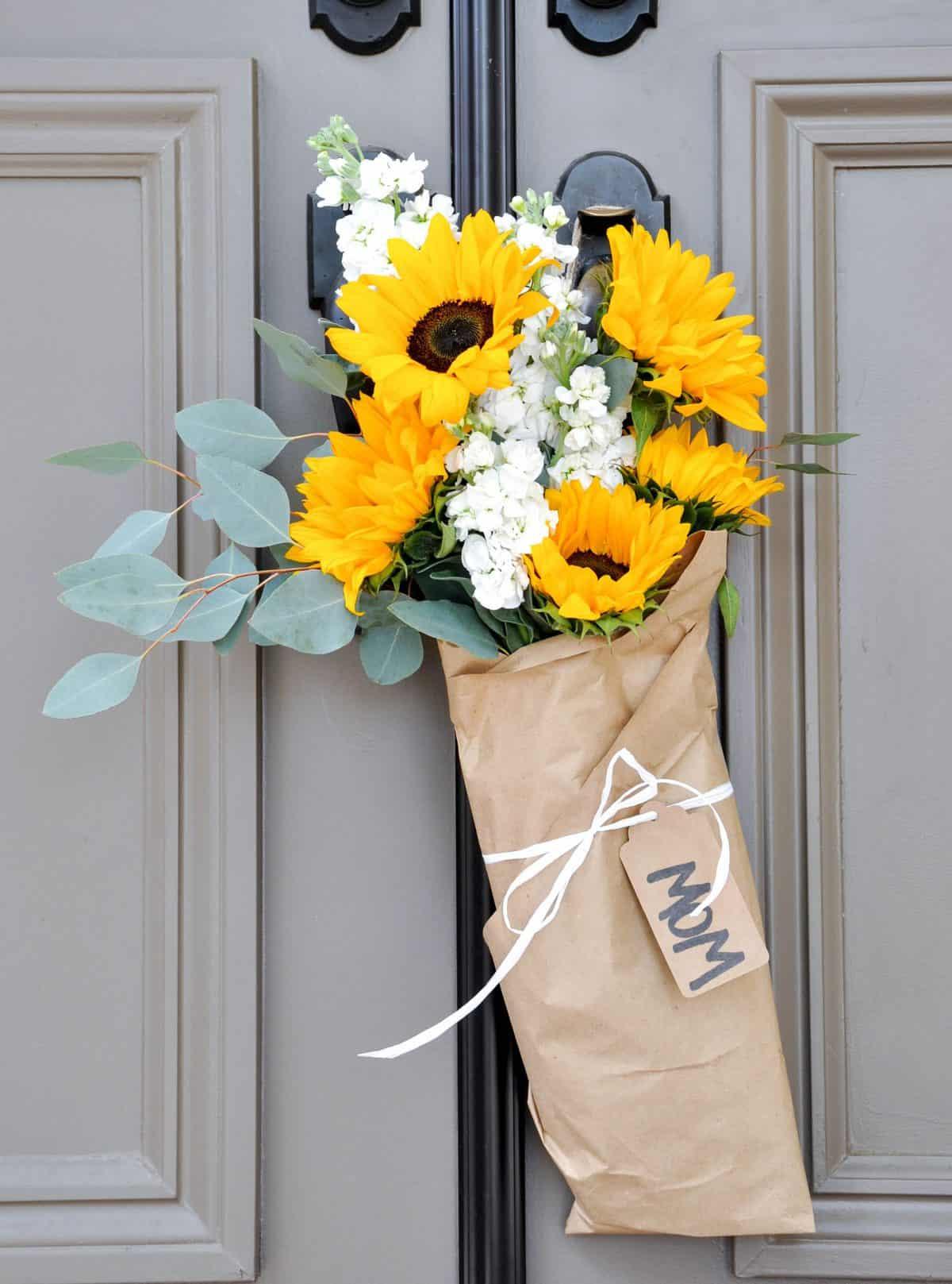 Door Hanger Floral Bouquets