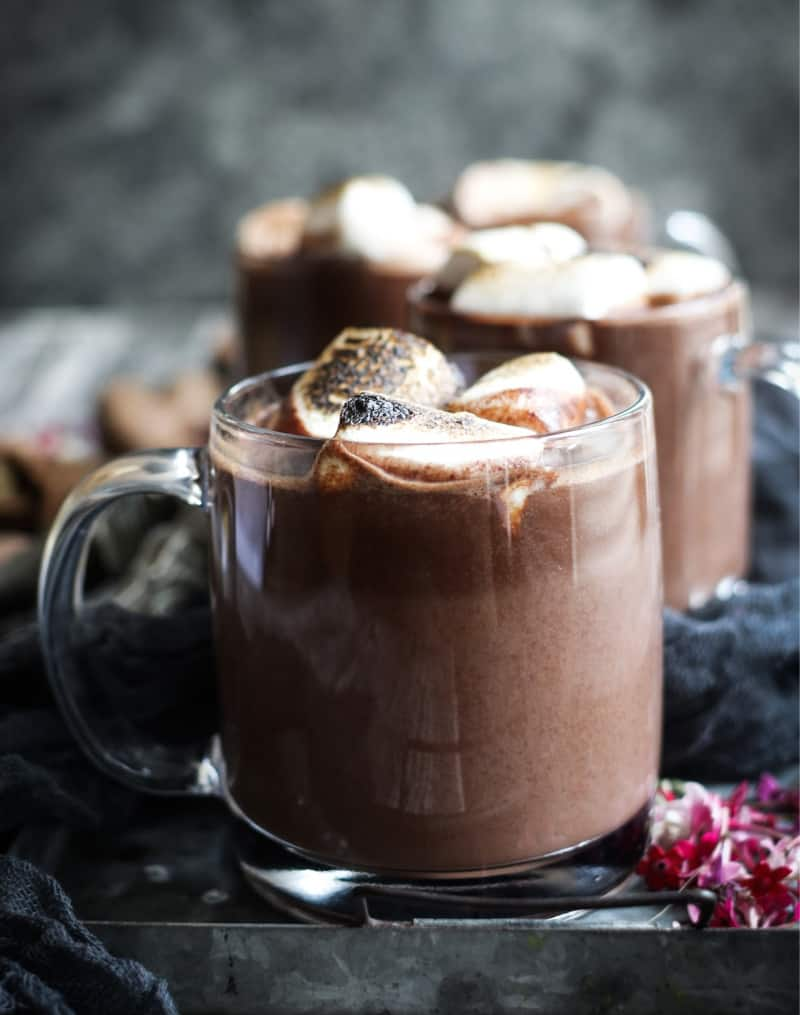 Red Wine Hot Chocolate from California Wines