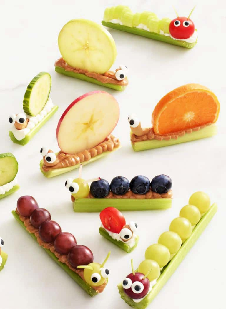 fun food art ideas Critter Crudités