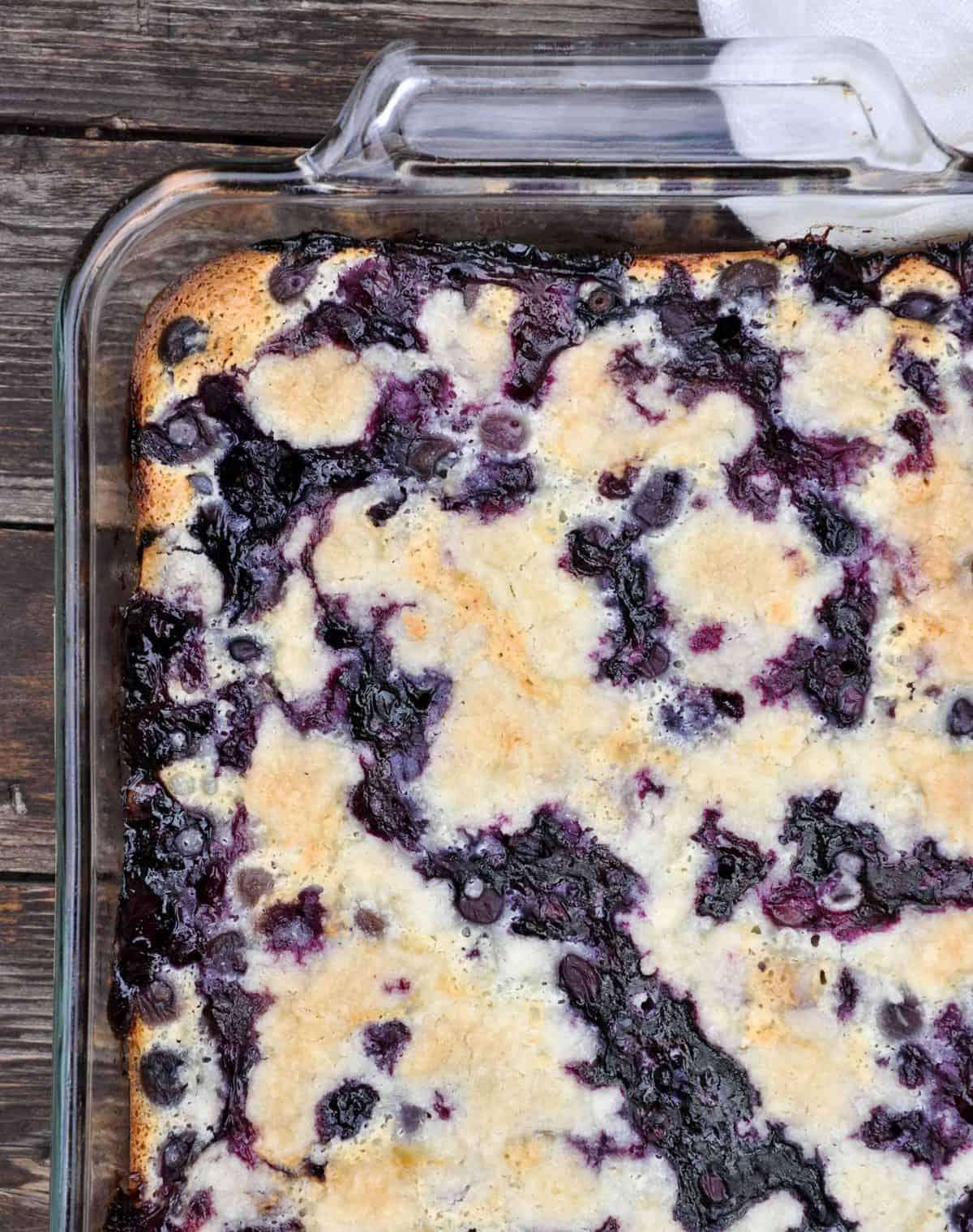 Fresh Blueberry Pie Bars