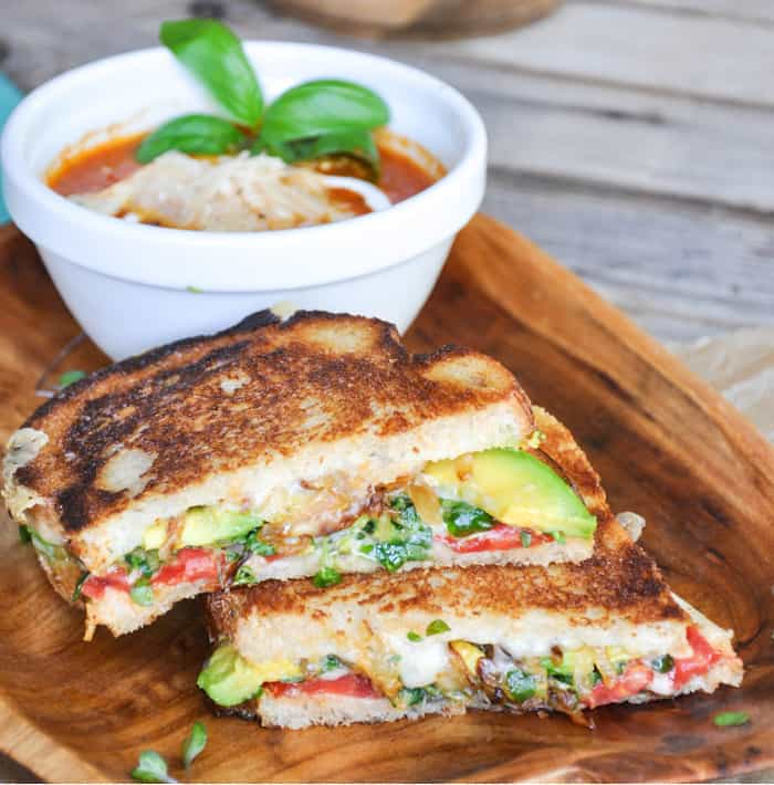 Garden Grilled Cheese. Deliciously healthy dishes kids can help make...and eat