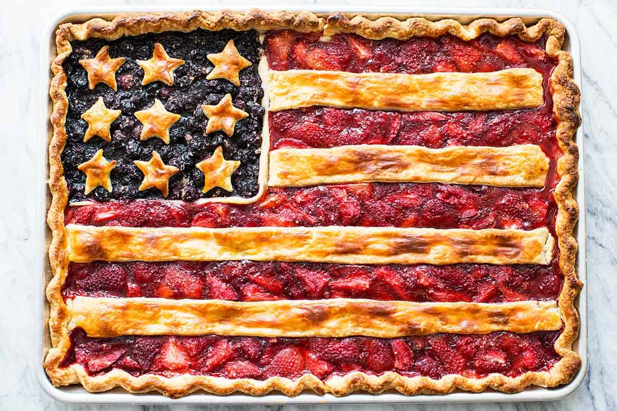 The Ultimate Red, White & Blue Recipe Roundup