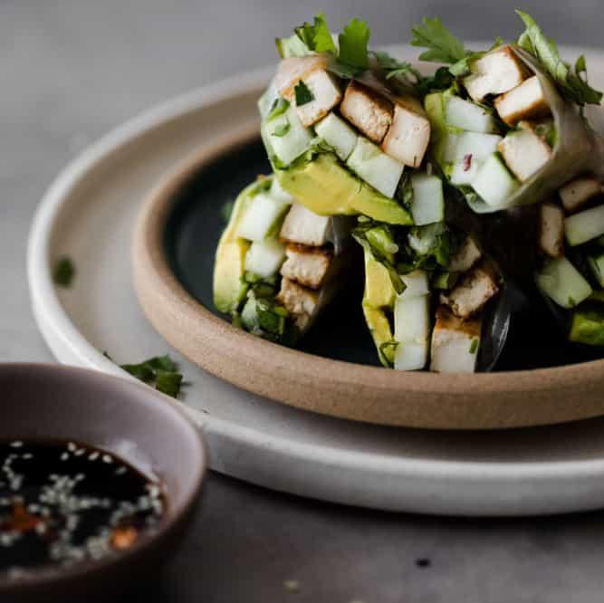 Avocado Recipe Round Up Cucumber Avocado Rolls