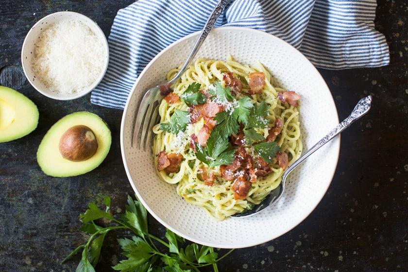 Avocado Recipe Round Up California Avocado Carbonara