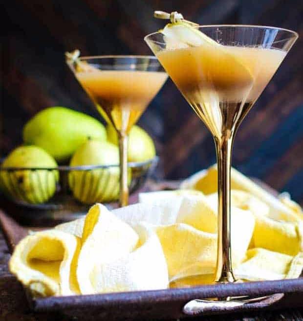 Roasted Pear Martini