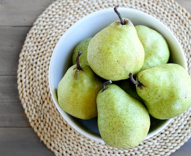 California Grown Pears Recipes to Try!