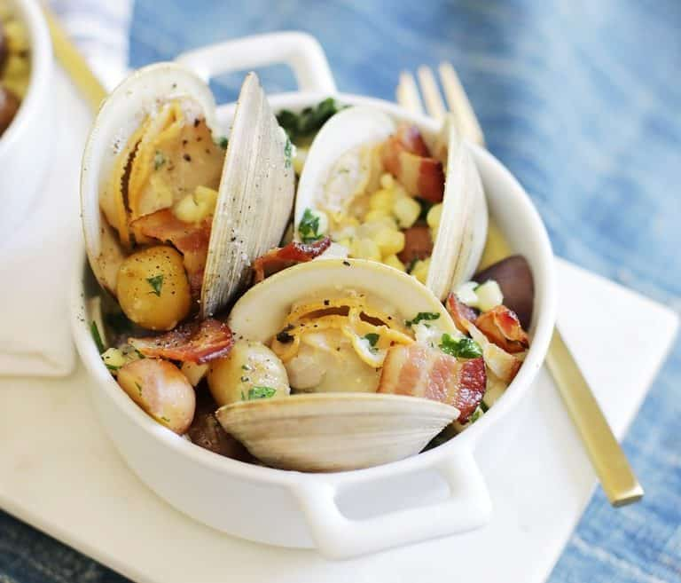 chowdered clams