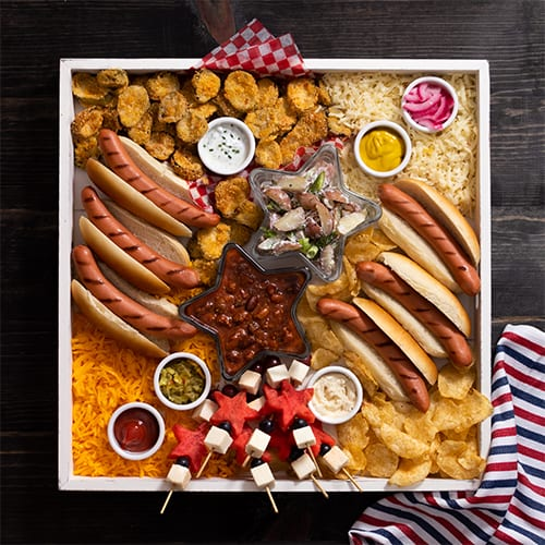Snack Board with California Dairy